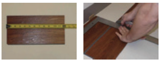 Tarkett VeriCore Installation Step 4